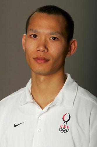 图文-美国奥运代表团成员写真羽毛球选手马雷松