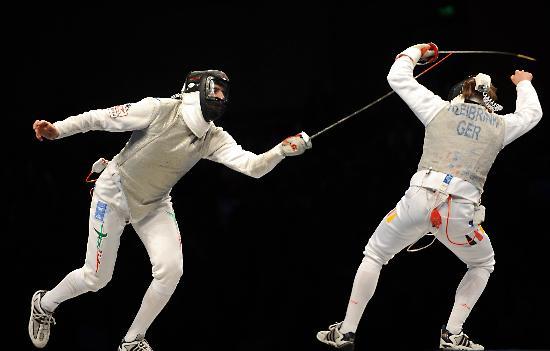 图文-好运北京击剑世锦赛男花赛况 卡萨拉趁势而起