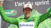 图文-环法自行车赛第12赛段结束绿衫车手依旧是他