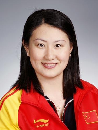 图文-北京奥运会中国代表团成立 射击队队员陈颖