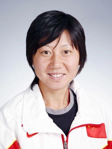 图文-北京奥运会中国代表团成立 田径队队员李珍珠