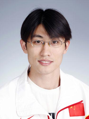 图文-北京奥运会中国代表团成立田径队队员胡凯