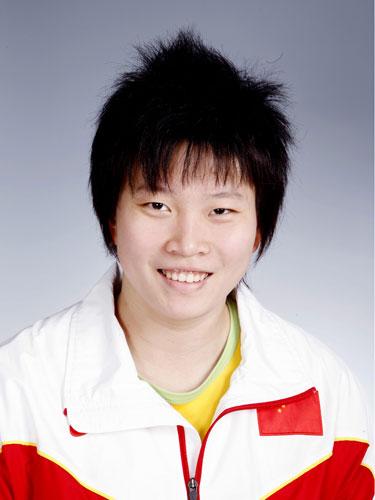 图文-北京奥运会中国代表团成立 游泳队队员李佳星