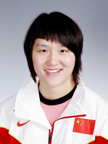 图文-北京奥运会中国代表团成立 游泳队队员庞佳颖