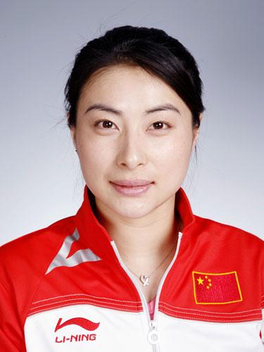 图文-北京奥运会中国代表团成立 跳水队队员郭晶晶