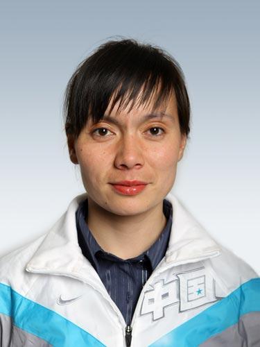 图文-北京奥运会中国代表团成立 马术队队员刘丽娜