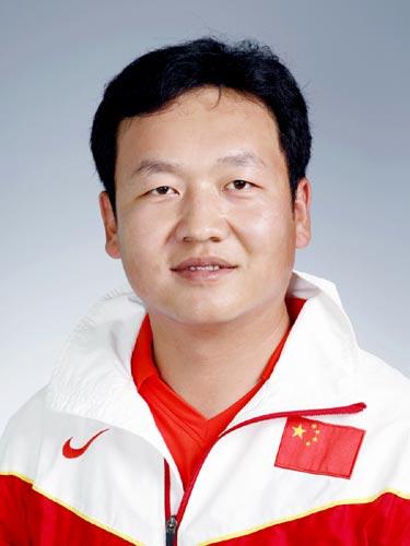 图文-北京奥运会中国代表团成立射箭队队员薛海峰