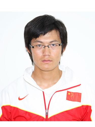 图文-北京奥运会中国代表团成立 赛艇队队员赵林泉