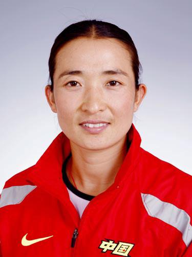 图文-北京奥运会中国代表团成立 女曲队员黄俊霞