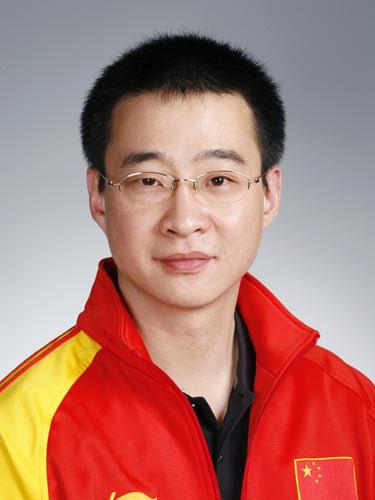 图文-北京奥运会中国代表团成立 射击队员张鹏辉
