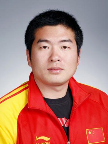 图文-北京奥运会中国代表团成立 射击队员金迪