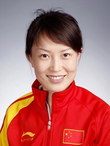 图文-北京奥运会中国代表团成立 射击队员赵颖慧