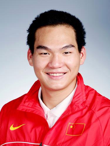 图文-北京奥运会中国代表团成立水球队员谭飞虎