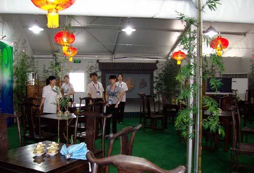图文-探秘北京奥运村内景 奥运村内的品茶室