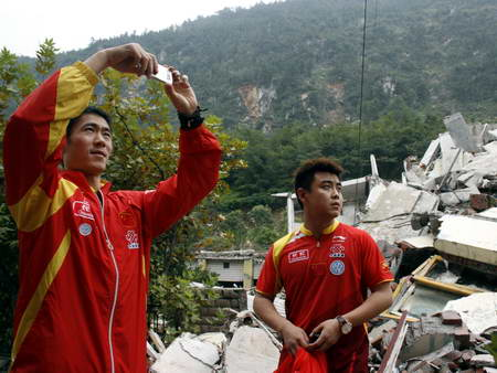 Chinese ping-pong team is thorough boreal plain remains grieves over die brethren (group plan)