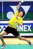 图文-香港羽毛球公开赛朱琳胜黄妙珠志在必得