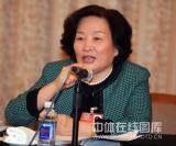 图文-政协会议体育委员分组讨论胡家燕发言