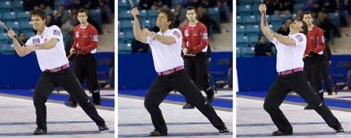 图文-男子冰壶世锦赛苏格兰夺冠挪威击败瑞士摘铜