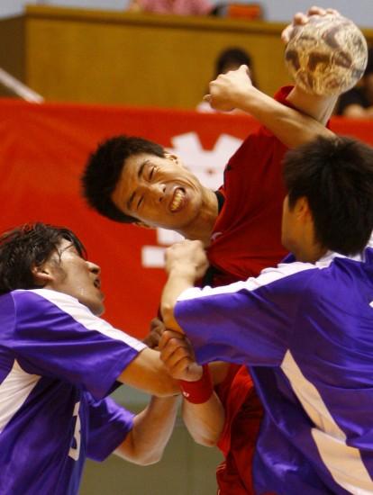 (手球)(6)手球全运男子健美预选赛体育日本赛况茶图片