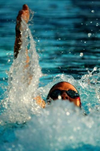 图文-游泳世锦赛女子200米仰泳考文垂宝刀未老