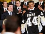 奥巴马是企鹅队44号
