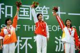 女子400米自冠军陈倩