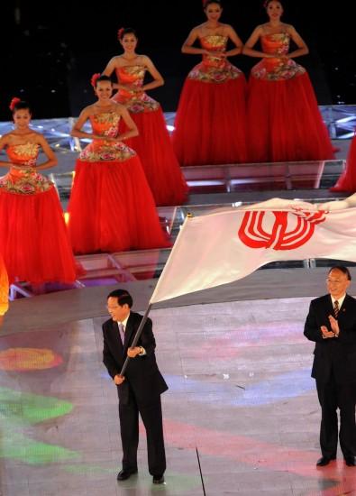 图文-第十一届全运会举行闭幕式期待辽宁办全运