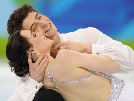 图文-冬奥会花样滑冰冰舞自由舞最年轻组合冠军