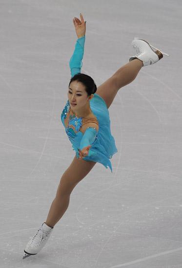 图文 花样滑冰女子单人短节目