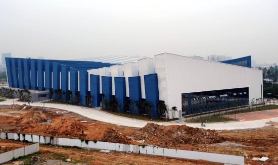 图文-广州亚运会新建场馆奥体游泳跳水馆外景