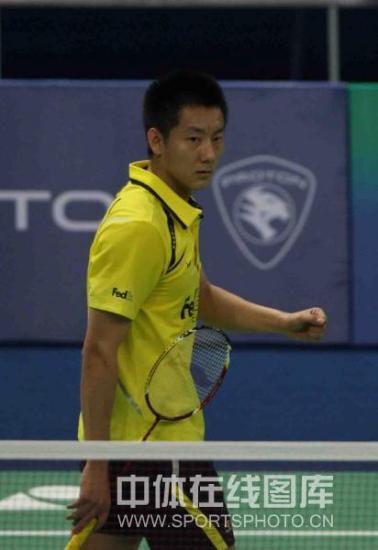 图文-汤杯中国3比0淘汰韩国晋级四强陈金庆得分