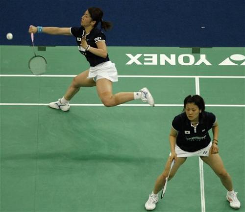 图文-尤杯日本3比1胜丹麦进四强藤井瑞希回球