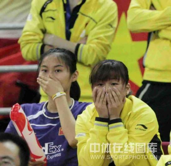 图文-尤杯决赛中国1-3韩国丢冠没想到这个结果