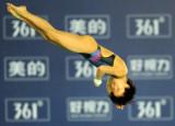 陈若琳动作很标准