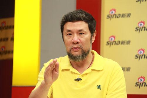 图文-总导演陈维亚做客聊亚运开幕式成竹在胸