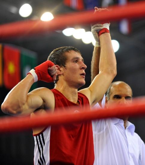 图文-[武搏会]拳击比赛第二日赛况胜中国选手夺冠