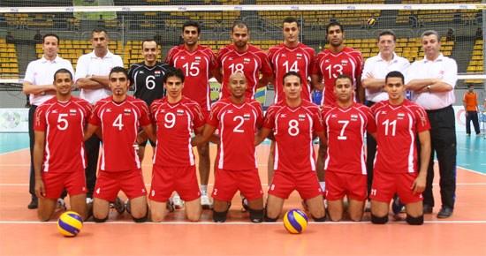 图文-2010年男排世锦赛24队巡礼埃及男排合影