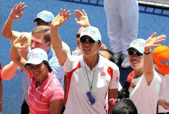 奥运冠军畅游香港海洋公园