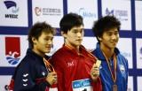 孙杨夺自由泳冠军