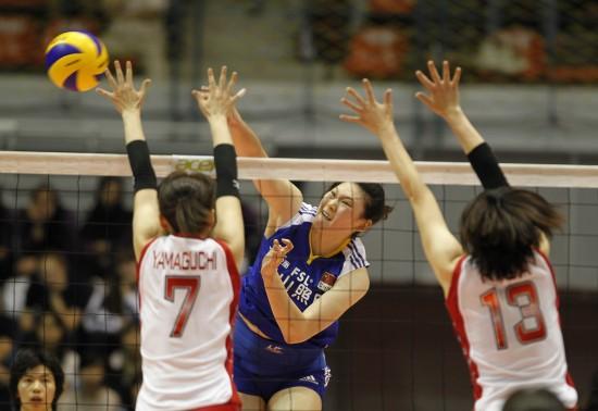 中国女排决赛力克日本
