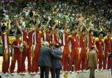 中国队在仪式上
