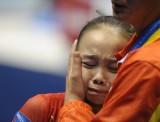 谭思欣失误痛哭