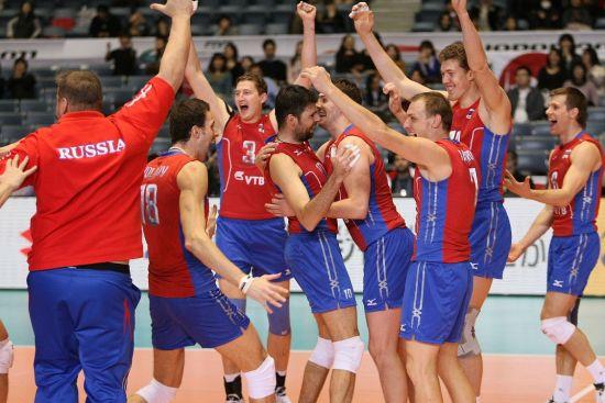 俄罗斯夺冠幸福瞬间