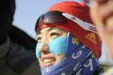 唐佳琳夺冠后露出笑容