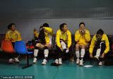 北京队员赛前准备