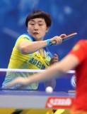 冯天薇在比赛中