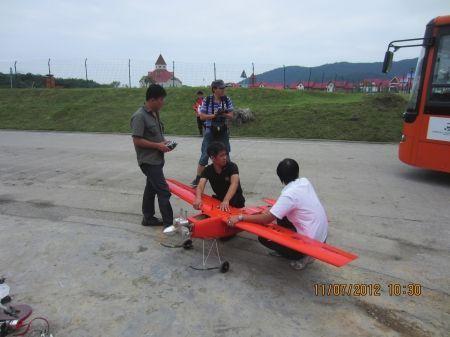 即将于今日试飞的小鹰3A型无人机。
