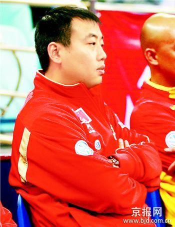 刘国梁施之皓划下08选将标准团体赛无一单二单之分