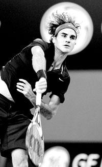 费德勒蝉联ATP年度最佳