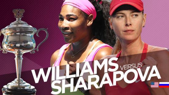 小威冲击澳网第六冠还是莎娃止住15连败?